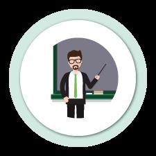 Icono Educación Profesor
