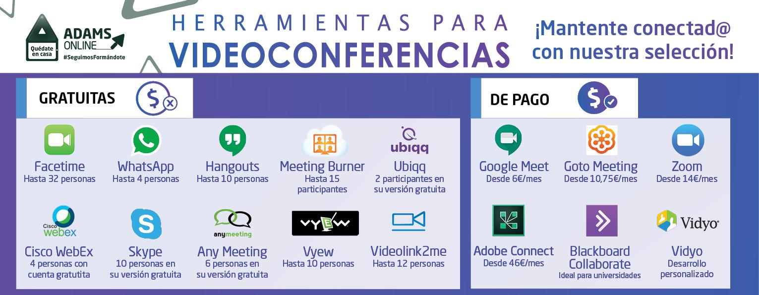 HerramientasVideoconferencia