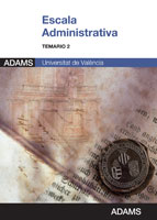 Temario 2 Escala Administrativa de la Universidad de Valencia