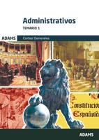 Temario 1 Administrativos de las Cortes Generales