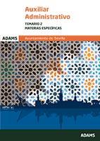 Auxiliar Administrativo Temario 2 (Materias espec�ficas) Ayuntamiento de Sevilla