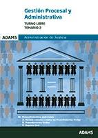 Temario 2 Gesti�n procesal y administrativa, turno libre