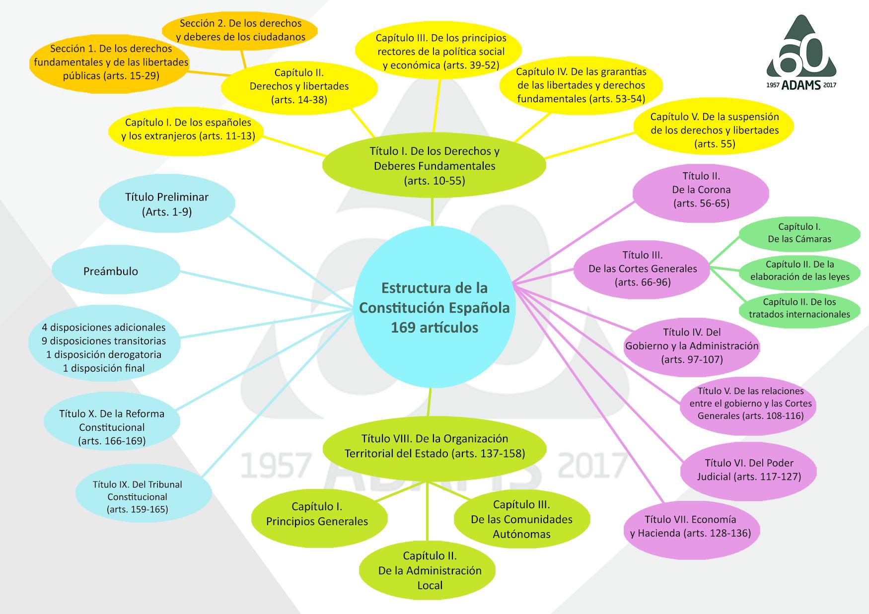 Mapa Mental Constitucion Adams Formacion