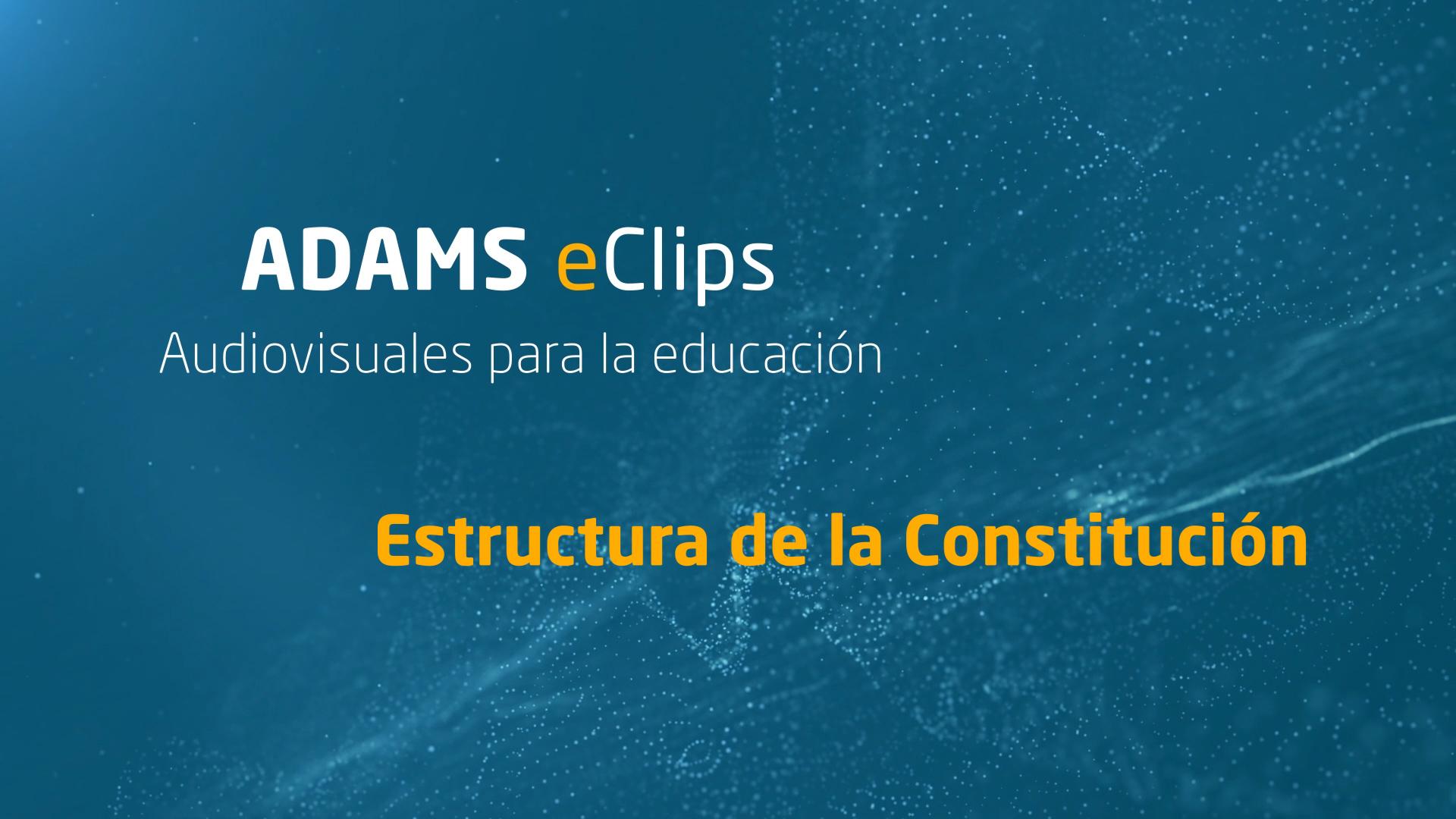 Eclips La Estructura De La Constitución Blog Del Alumno