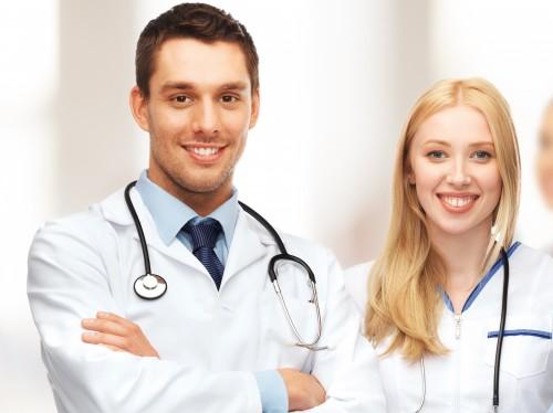 enfermera-médico