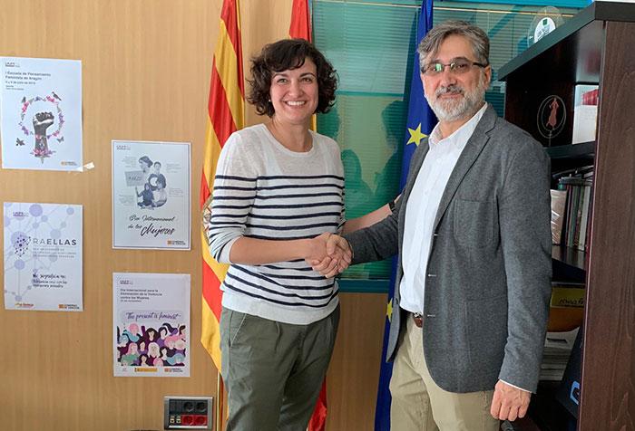 Acuerdo ADAMS Instituto Aragonés de la Mujer