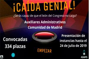 Auxiliar Comunidad de Madrid