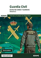 Temario 1. Guardia Civil. Ciencias Jurídicas